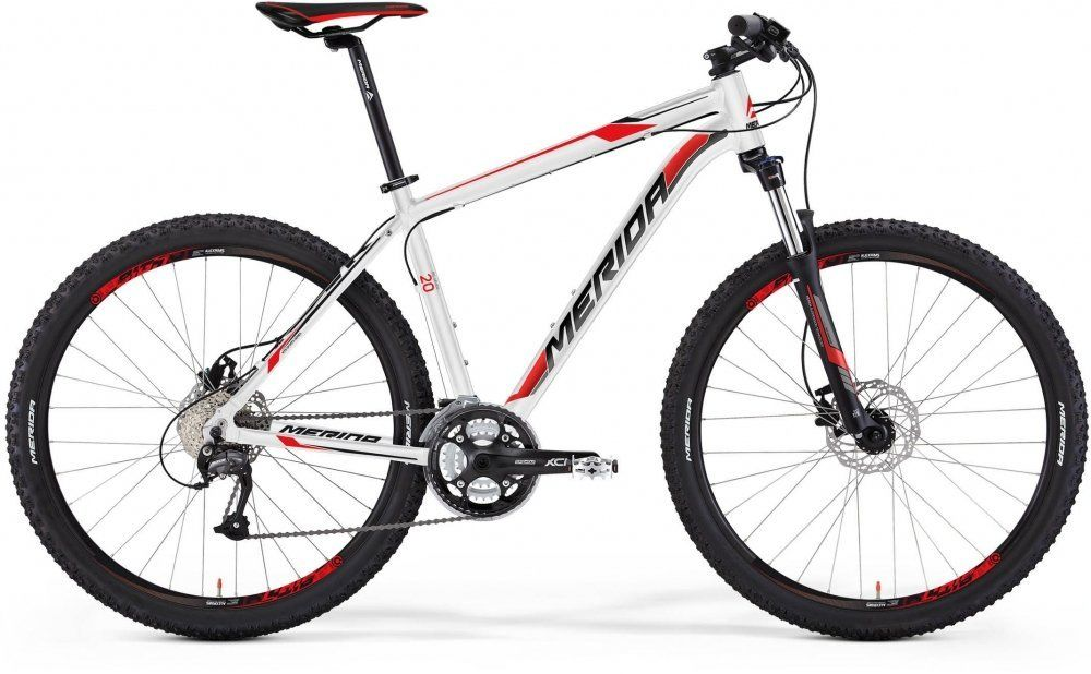 "Велосипед Merida Big 7 20-MD 27,5"" white/black/red 2015"
