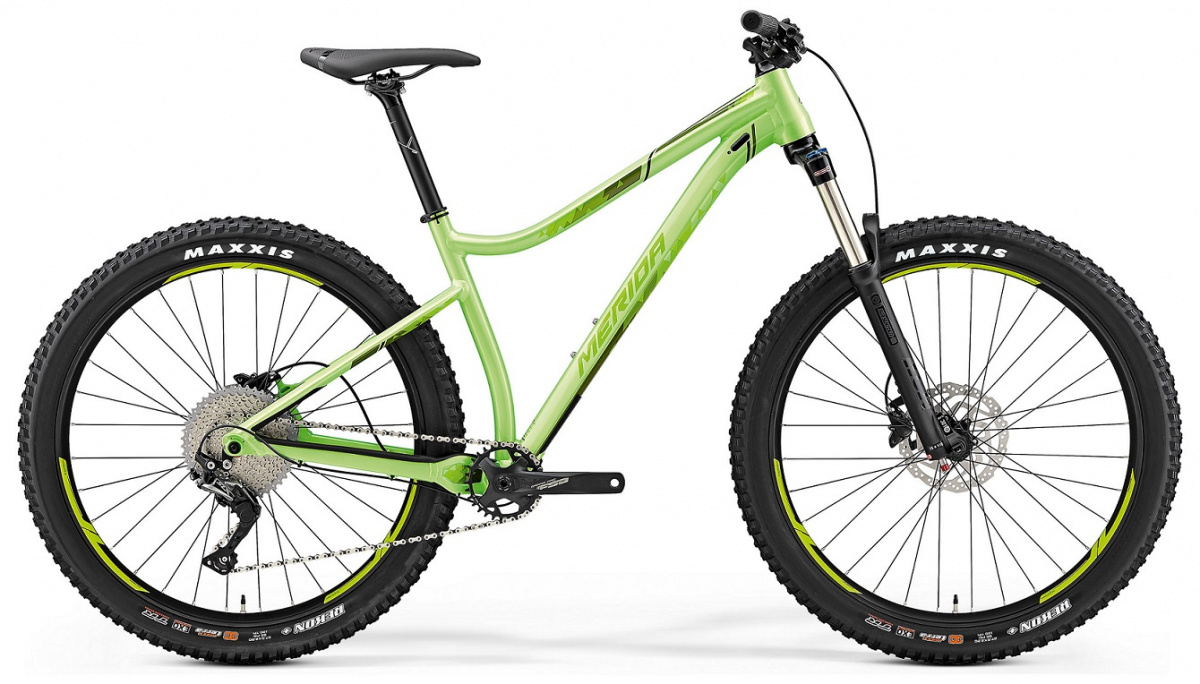 "Велосипед Merida Big Trail 400 27,5"" glossylight/green 2019"